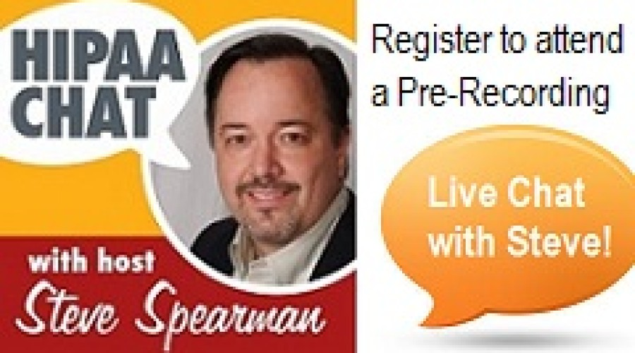 Attend a HIPAA Chat Recording